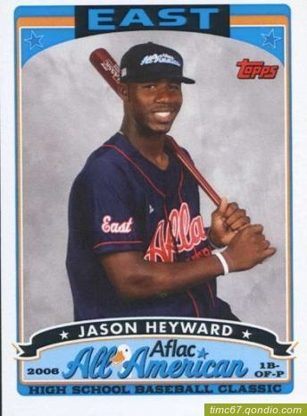Image result for jason heyward rookie card