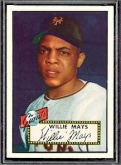 Willie Mays Baseball Card Value