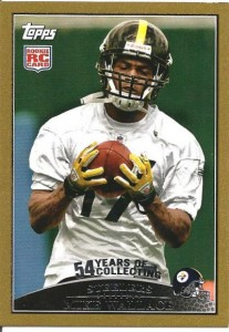 Mike Wallace Rookie Card