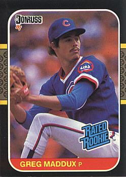 Buy Here Pay Here Ma >> Greatest Greg Maddux Rookie Cards of All-Time