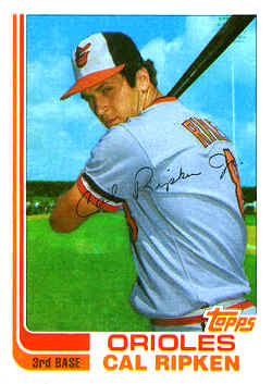 Cal Ripken Rookie Card