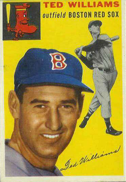 ted-williams-baseball-cards