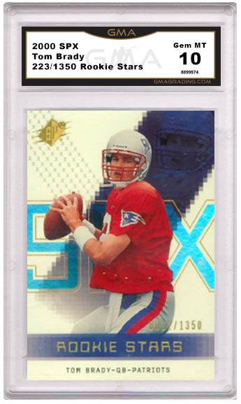 Best Tom Brady Rookie Cards And What They Are Worth