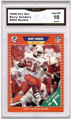 Barry Sanders Rookie Cards Are Worth Less Than They Should Be