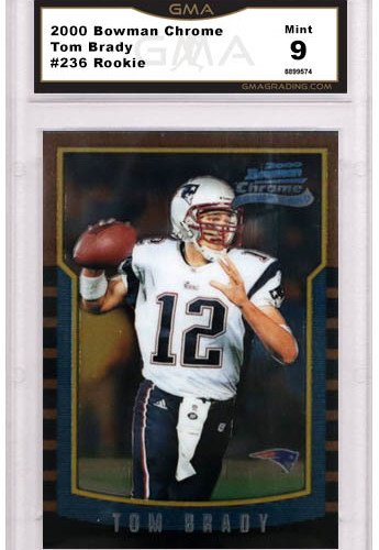 quality design 90297 594f4 Best Tom Brady Rookie Cards and What they are Worth