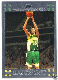 Kevin Durant Rookie Cards Becoming Popular