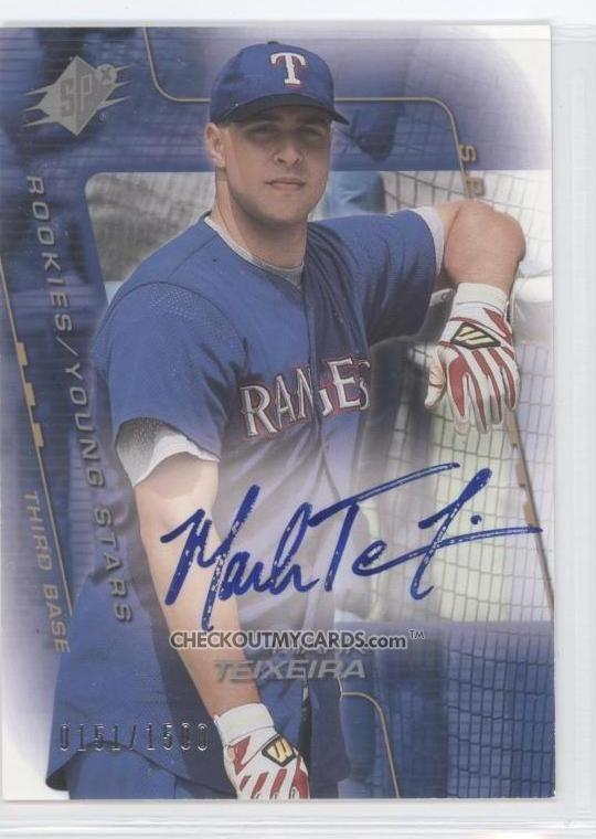 Best Mark Teixiera Rookie Cards To Buy