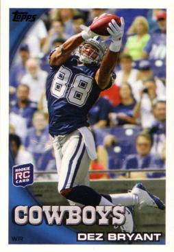 Top 5 Dez Bryant Rookie Cards To Buy Gma Grading 3 50