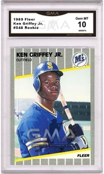 Best Ken Griffey Jr Rookie Cards Of All Time