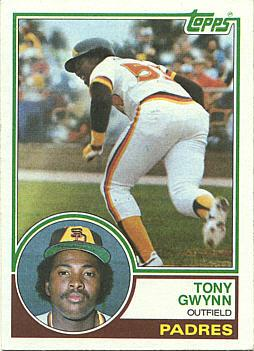 Value Of Tony Gwynn Rookie Cards And Baseball Cards