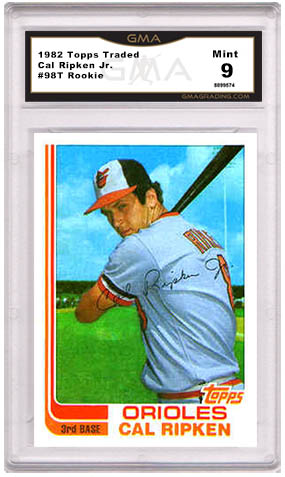 Value Of Cal Ripken Rookie Cards And Baseball Cards