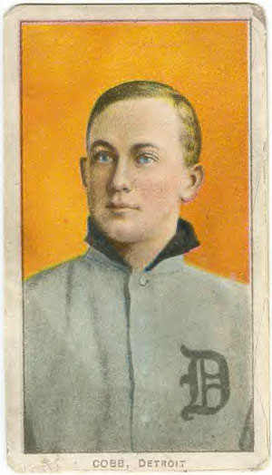 Best Ty Cobb Baseball Cards And Autographs