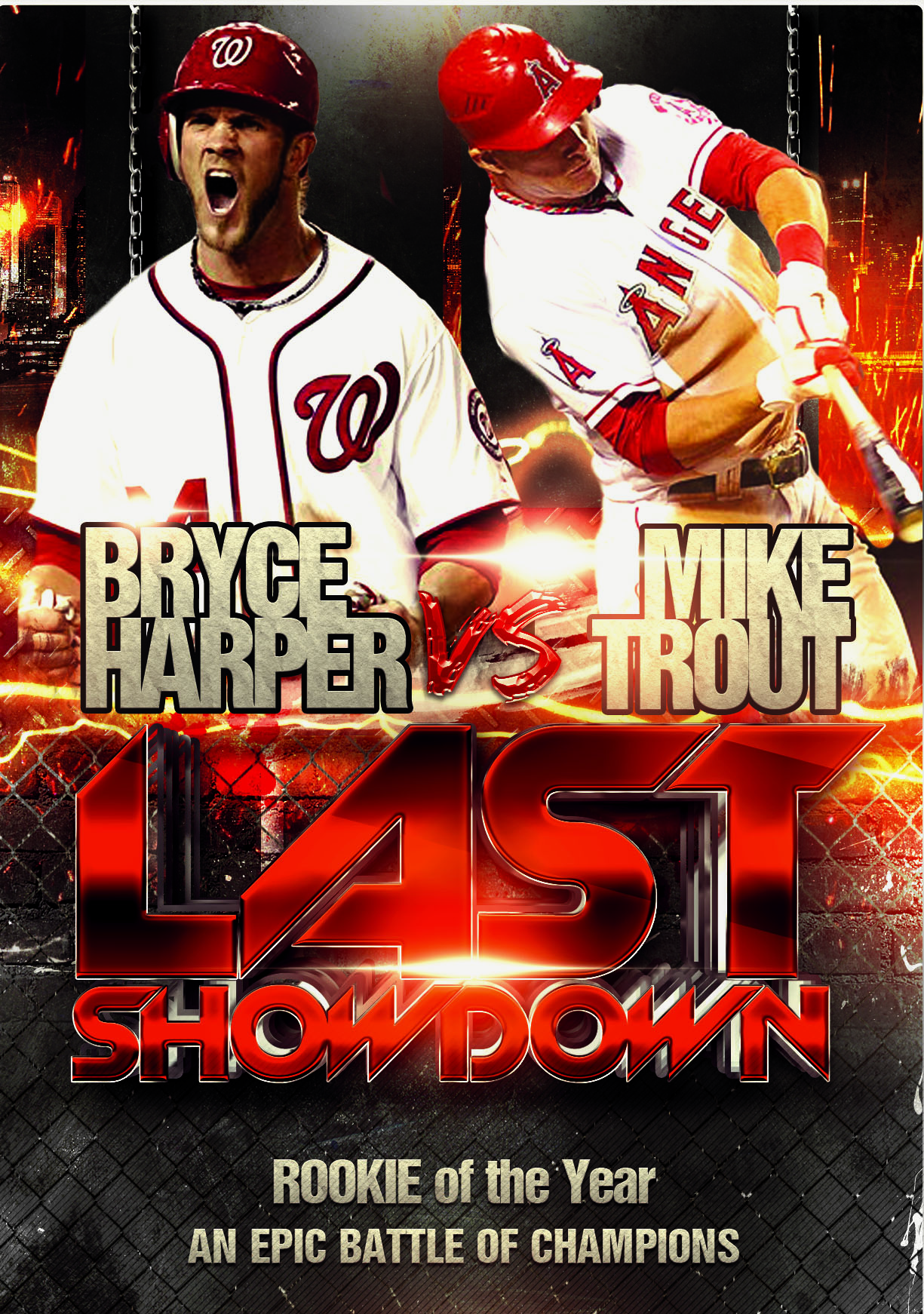 Bryce Harper And Mike Trout Will Win Roy Rookie Cards To