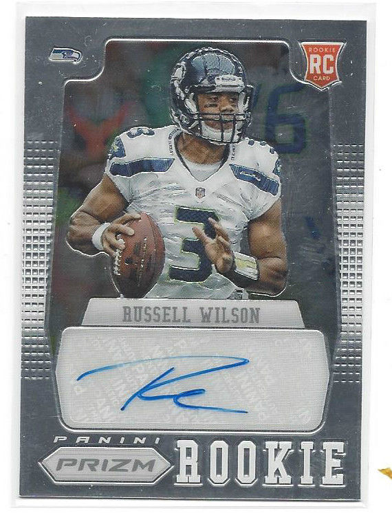 Top 5 Russell Wilson Rookie Cards To Buy