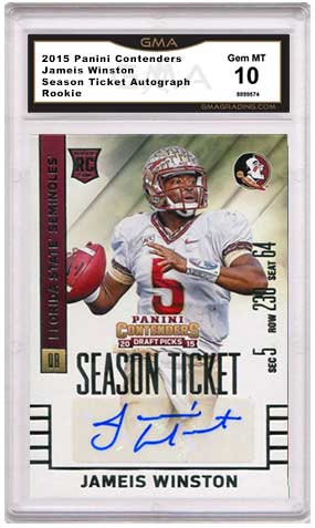 Jameis Winston Rookie Cards and Autograph Checklist f11045257